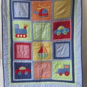 play mat children kids airplane car quilt soft